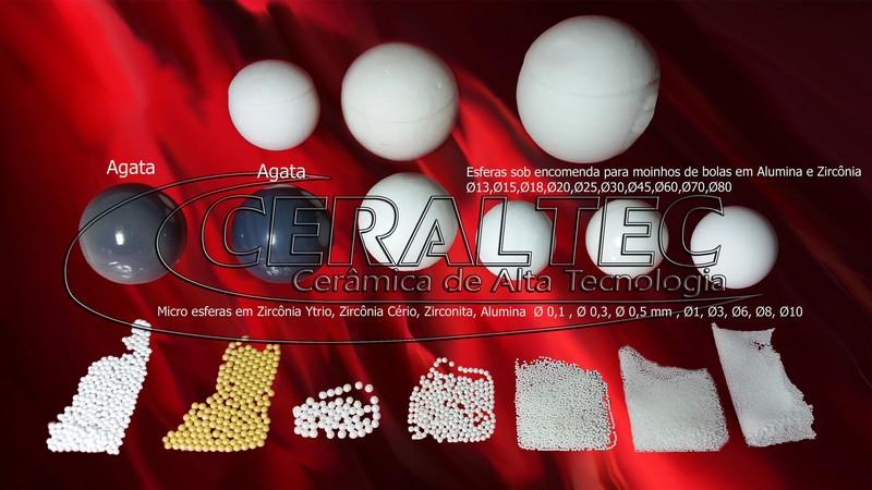 Esferas, Bolas e Micro Esferas